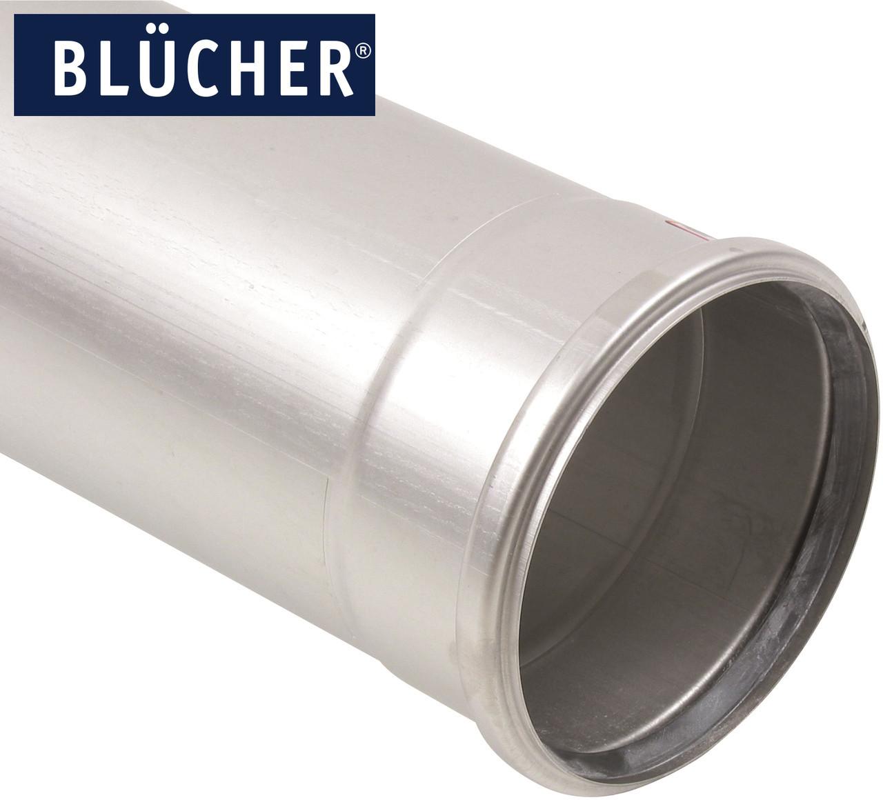 Каналізаційна труба BLUCHER з нержавіючої сталі AISI304 / AISI316L, 3000мм, DN160