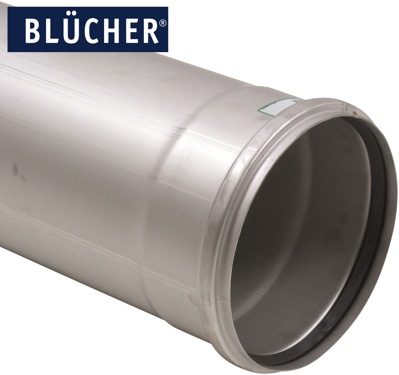 Каналізаційна труба BLUCHER з нержавіючої сталі AISI304 / AISI316L, 3000мм, DN200