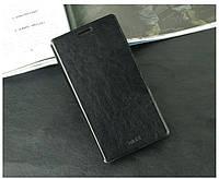 Кожаный чехол книжка MOFI для Lenovo Vibe Z2 Pro K920 черный, фото 1