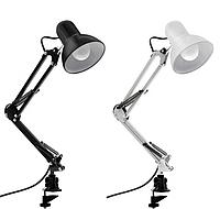 Лампа настольная для маникюра на струбцине