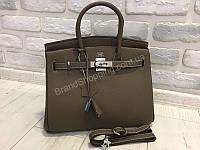 a537ea5cf5a5 Стильная женская сумочка Hermes Birkin 30 см в люкс качестве натуральная  кожа 1786