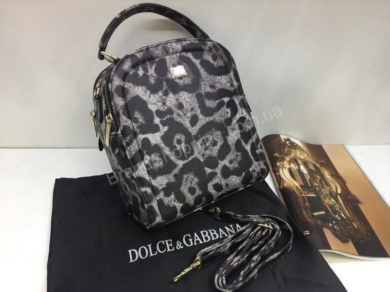 2d405f1fa38b НОВИНКА! Брендовый рюкзак-сумка Dolce&Gabbana в леопардовом цвете 1801 -  The style shop в