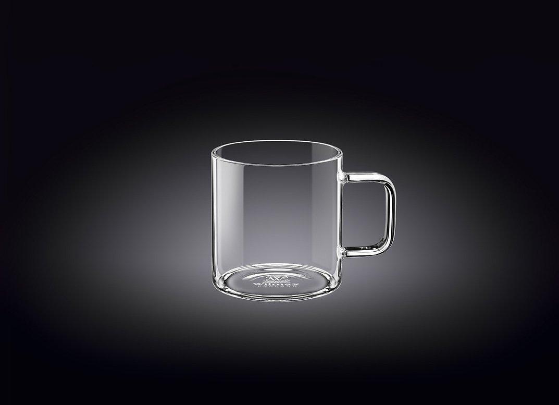 Чашка скляна Wilmax Thermo WL-888601 80 мл