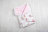Одеяло-конверт для новорожденного с пуговицами, Сказочное мгновение, фото 1