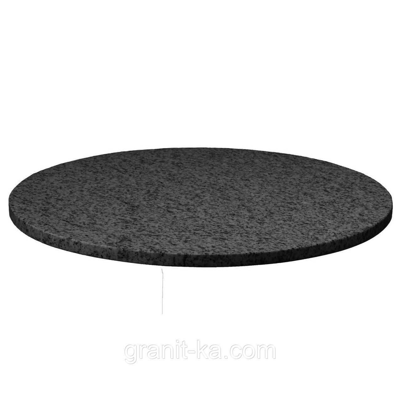 Кругла стільниця з граніту