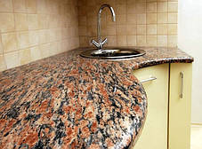 Кругла стільниця з граніту, фото 3