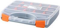 Органайзер-кейс пластиковый, e.toolbox.04, 320х250х60мм