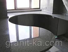 Кругла стільниця з граніту, фото 2