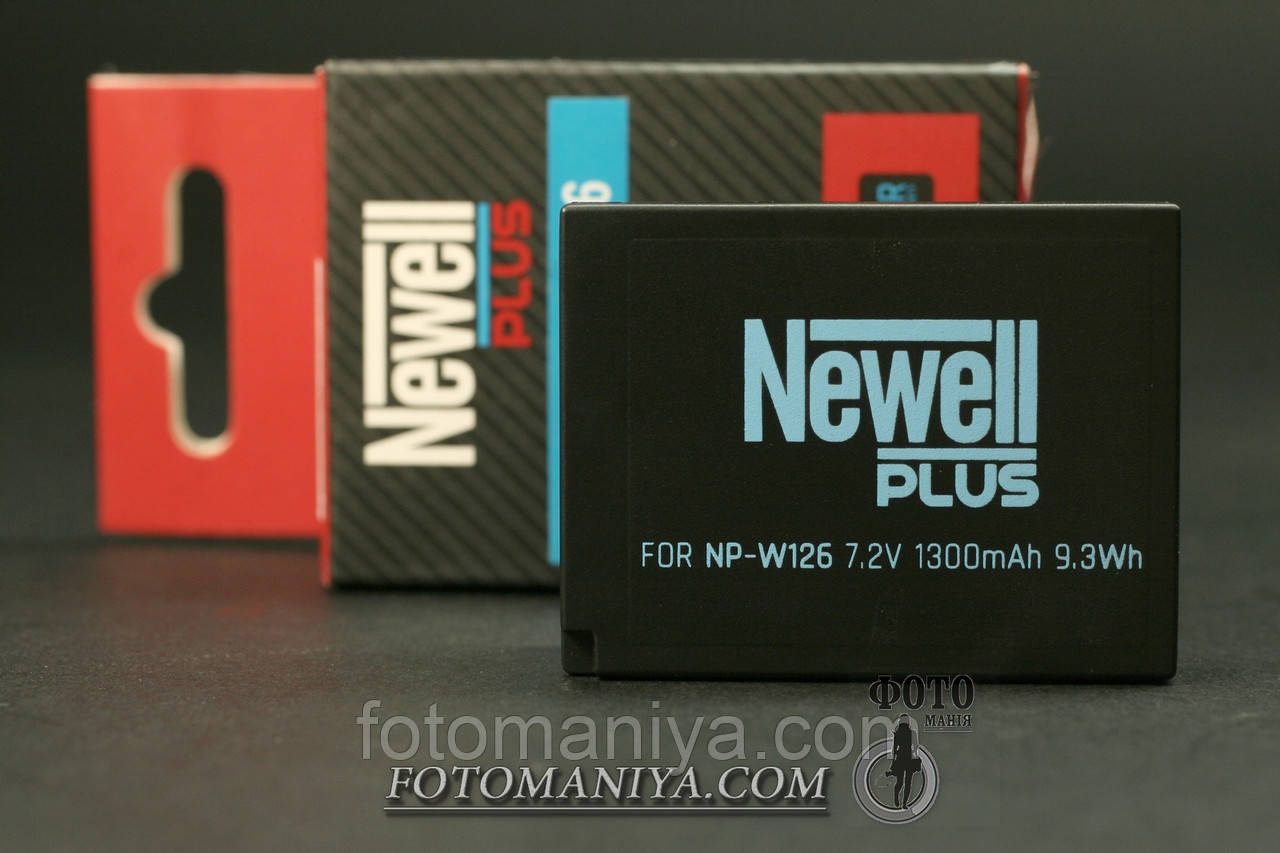 Акумулятор Newell Plus for Fujifilm NP-W126 (аналог)
