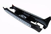 Kia Sportage боковые пороги подножки площадки на для KIA КИА Sportage 2010-2015 стиль BMW