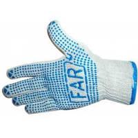 Рабочие перчатки FAR с ПВХ точкой 550 гр.