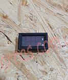 Вольтметр-Амперметр 27019 цифровой 100V/10A встраиваемый, фото 3