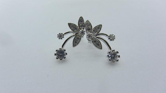 Серебряные серьги 925 пробы, серьги из стерлингового серебра, женские серебряные серьги