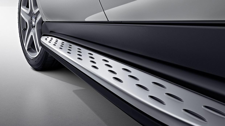 Mercedes X166 боковые пороги подножки площадки на для MERCEDES MERCEDES-BENZ Мерседес X166 GL/GLS 2013-/2015-