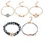 Набор женских браслетов с подвесками код 1579, фото 5