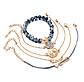Набор женских браслетов с подвесками код 1579, фото 3