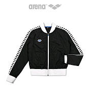 Спортивная Мужская Кофта Arena M Relax IV Team Jacket (Black White Black), фото 1