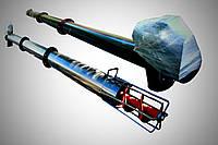 Шнековый транспортер (гвинтовий навантажувач) диаметром 219 мм, длиной 9 метров