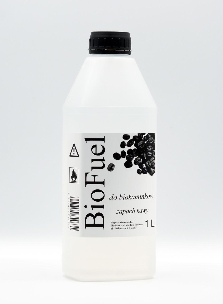 Биотопливо (топливо для биокаминов) запах кофе 1л.