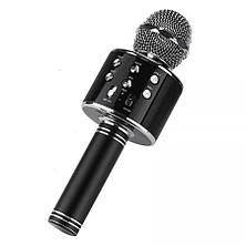 Бездротовий караоке мікрофон bluetooth WS858-1 CG01, фото 2