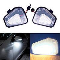 Светодиодная подсветка зеркал Volkswagen Passat B7, EOS, Jetta 2010-2015, фото 1
