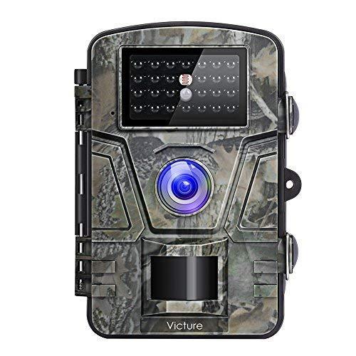 Камера ночного видения для охоты Victure 12MP 1080 P фотоловушка водонепроницаемая