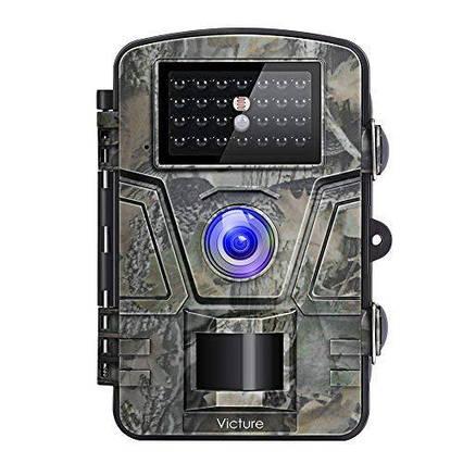Камера ночного видения для охоты Victure 12MP 1080 P фотоловушка водонепроницаемая, фото 2