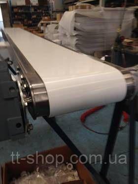 Стрічковий конвеєр шириною стрічки 200 мм, довжиною 9 м, 0,75 кВт 380 В, фото 2