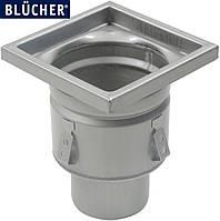 Промисловий трап для кухні Blucher 766.402.110, нержавіюча сталь, DN110, 200x200 мм