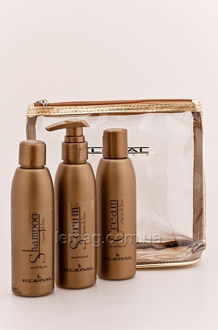 Kleral System Semi Di Lino Набор для волос с экстрактом льна