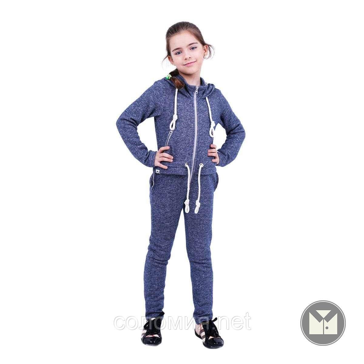 Хлопковый Комбинезон с эффектом  костюма для девочки 122-152р