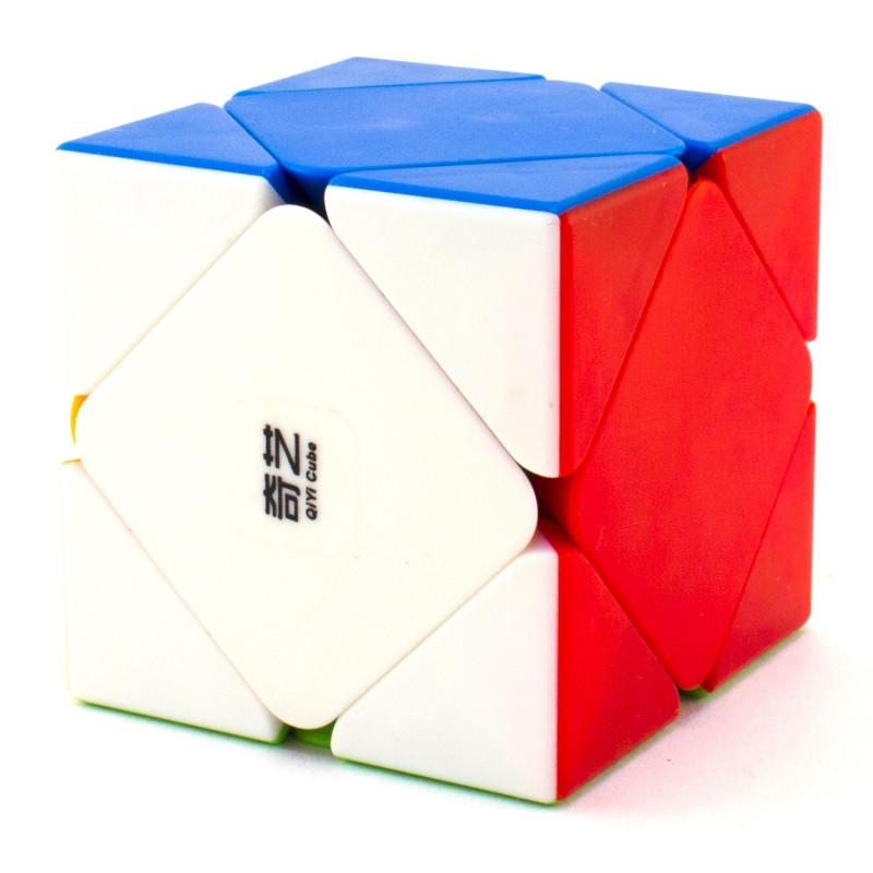 Кубик QiYi MoFangGe QiCheng Skewb сквеб, стікери, в коробці