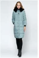 Куртка Виката зима длинная № 92