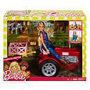 Лялька Барбі Фермер на тракторі Barbie Doll and Tractor, фото 9