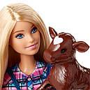 Лялька Барбі Фермер на тракторі Barbie Doll and Tractor, фото 4