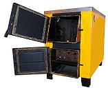 Котел-печь КОТВ-17,5 с варочной поверхностью на твердом топливе, фото 2