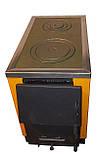 Котел-піч КОТВ-17,5 з варильною поверхнею на твердому паливі, фото 3
