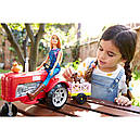 Лялька Барбі Фермер на тракторі Barbie Doll and Tractor, фото 10