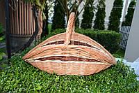 Плетенная корзина из лозы для дров 51х31х30, фото 1