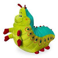 """Мягкая игрушка Гусеница Хаймлих из мультфильма """"Жизнь жуков"""" 25 см Heimlich A Bug's Life Disney 1230055501395P"""