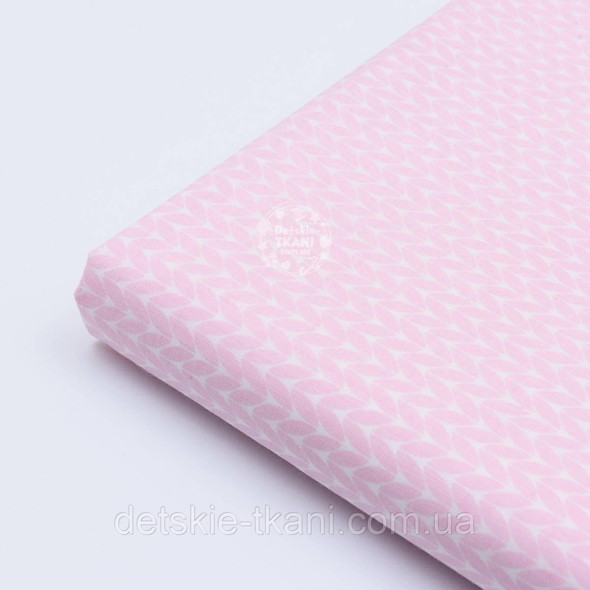 """Лоскут ткания Bora """"Свитерок"""", розовый цвет"""