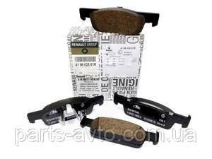 Колодки гальмівні передні Renault Sandero 2 Original 410602581R