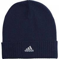 Шапка синяя Adidas Ess Corp Woolie W57499