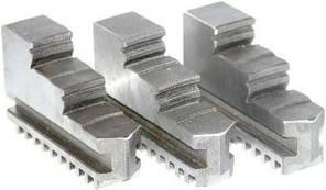 Кулачки обратные к патрону токарному ф250 3-х кул. шаг 9мм,ширина 28 мм, паз 12 мм FUERDA