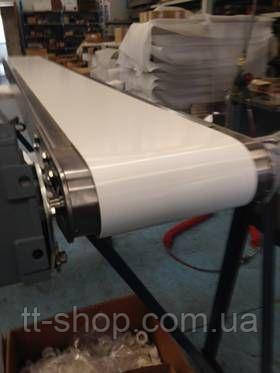 Стрічковий конвеєр шириною стрічки 500 мм, довжиною 3 м, 0,37 кВт 380 В, фото 2