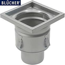 Промисловий трап для кухні Blucher 766.402.110, нержавіюча сталь, вертикальний вихід DN110