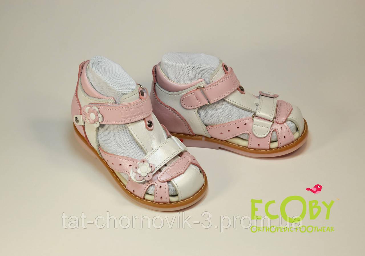 Босоножки Ecoby кожаные р.20-30 25  продажа 5c82c30931ba7