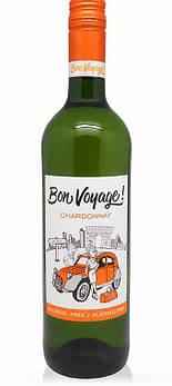 Безалкогольное вино Шардоне полусладкое Бон Вояж (Bon Voyage)