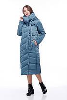 Стильное стеганое зимнее пальто для сильных морозов размеры от 42 до 54-56, фото 3