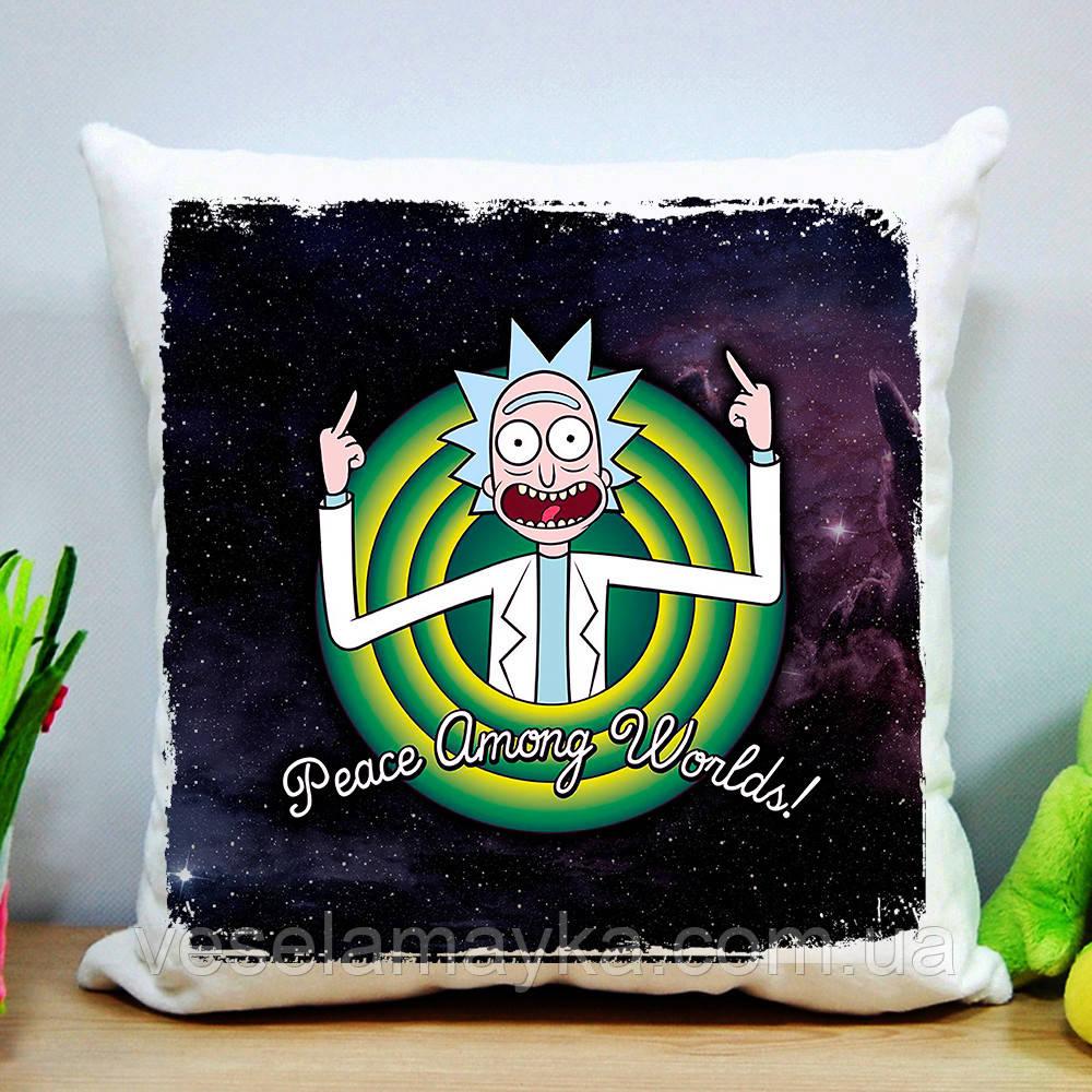 Подушка Рік і Морті 10 (Rick and Morty)